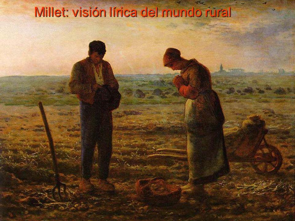 Millet: visión lírica del mundo rural
