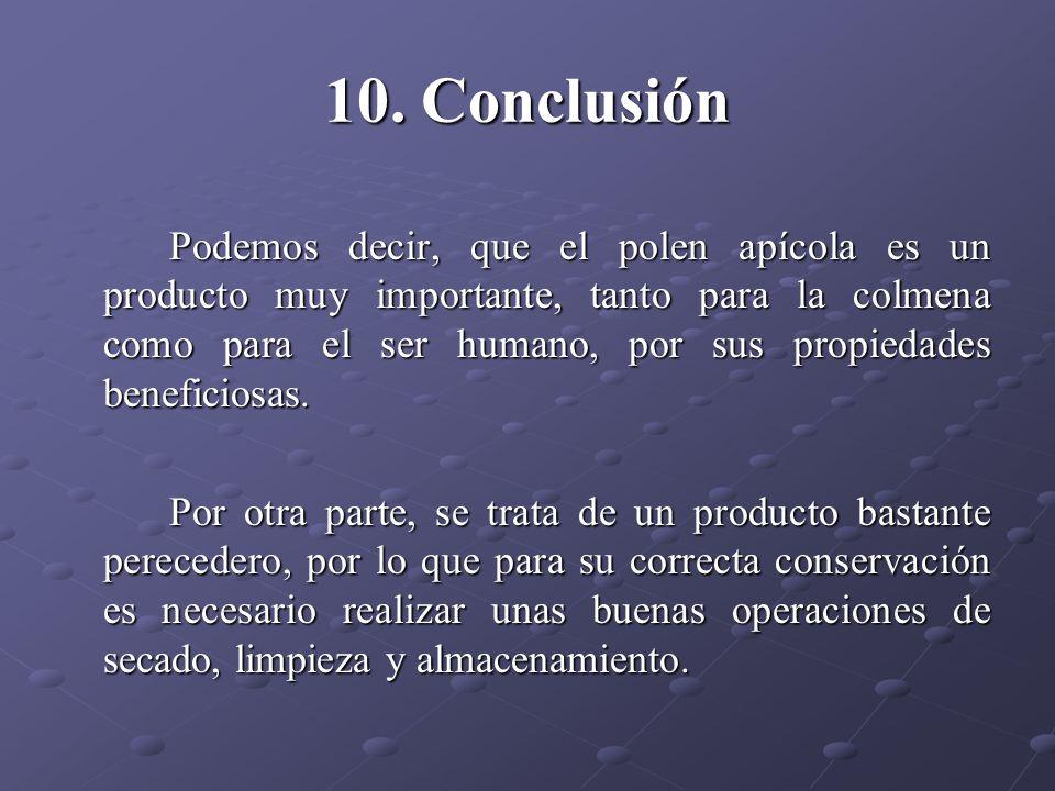 10. Conclusión