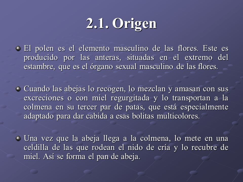 2.1. Origen