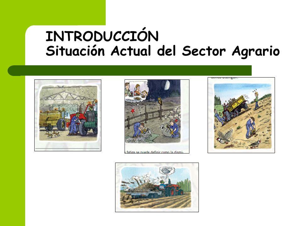 INTRODUCCIÓN Situación Actual del Sector Agrario