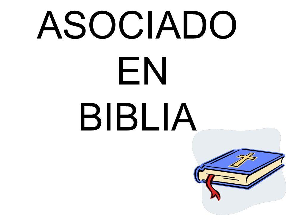 ASOCIADO EN BIBLIA