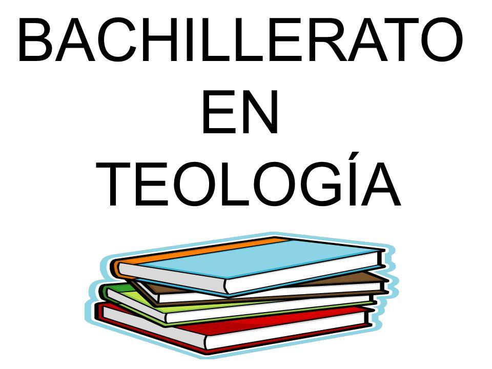 BACHILLERATO EN TEOLOGÍA