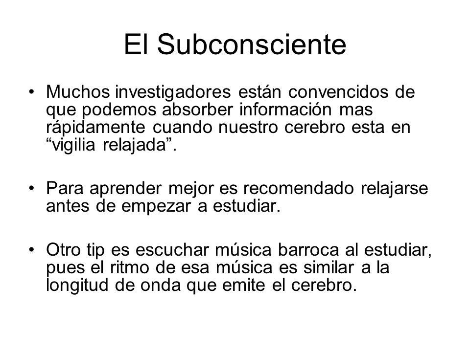 El Subconsciente