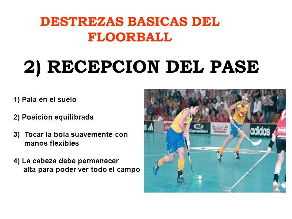 DESTREZAS BASICAS DEL FLOORBALL