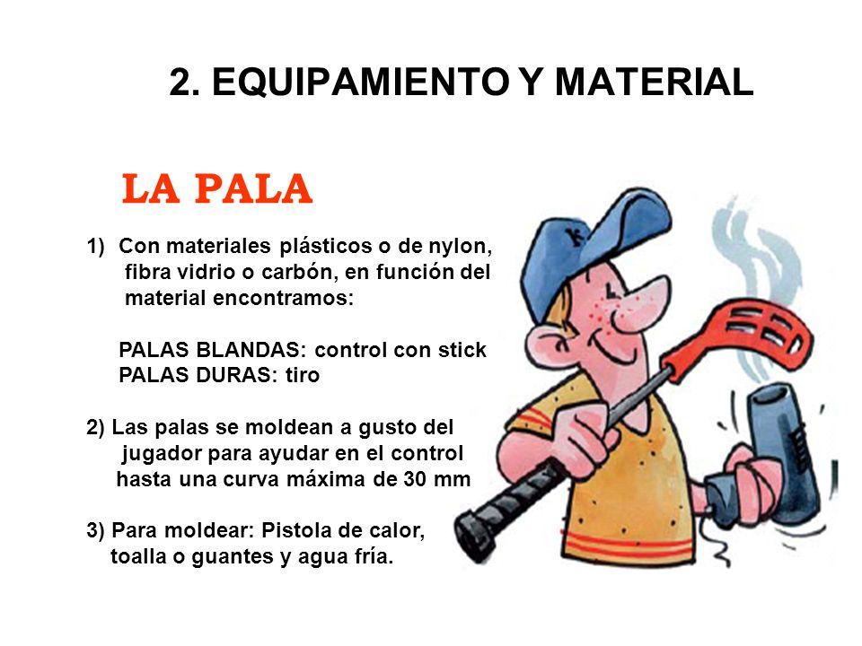 2. EQUIPAMIENTO Y MATERIAL