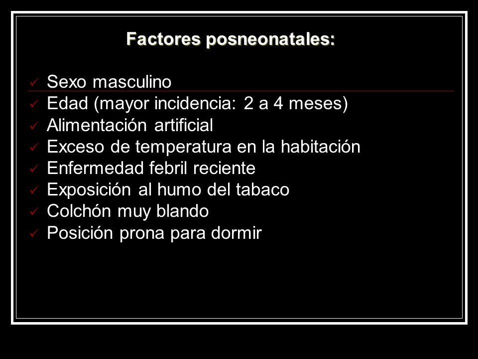 Factores posneonatales: