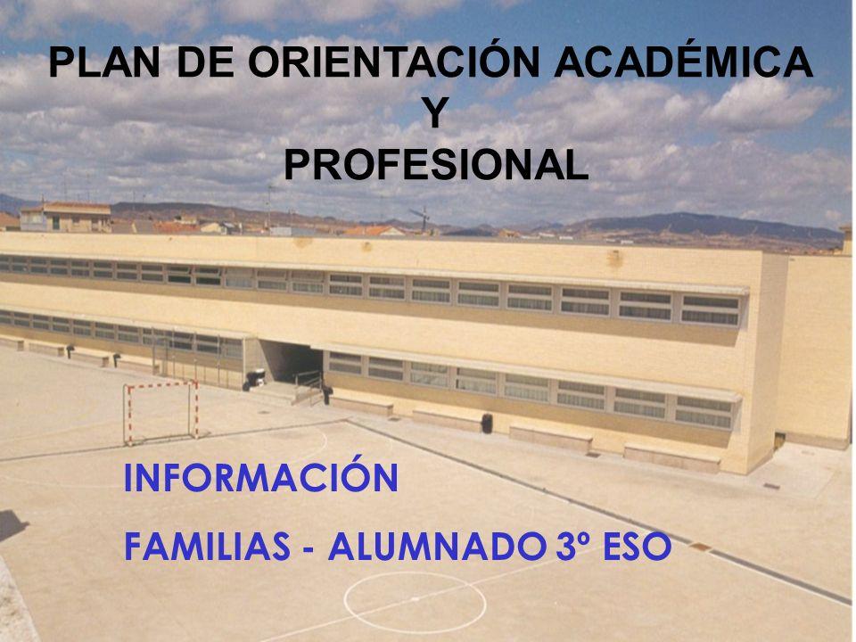 INFORMACIÓN FAMILIAS - ALUMNADO 3º ESO