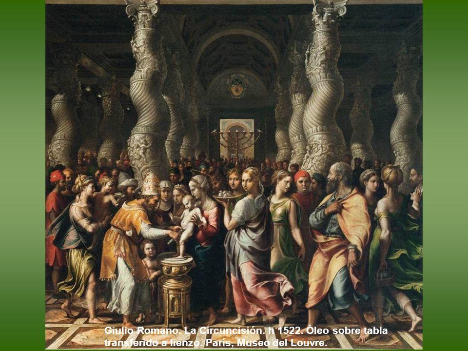 Giulio Romano. La Circuncisión. h 1522
