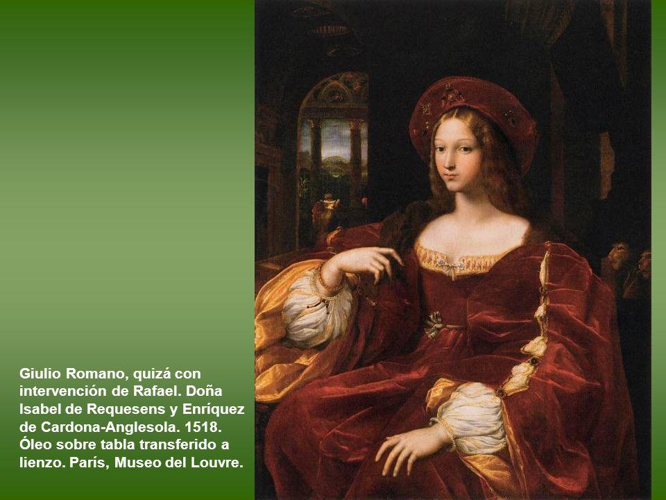 Giulio Romano, quizá con intervención de Rafael