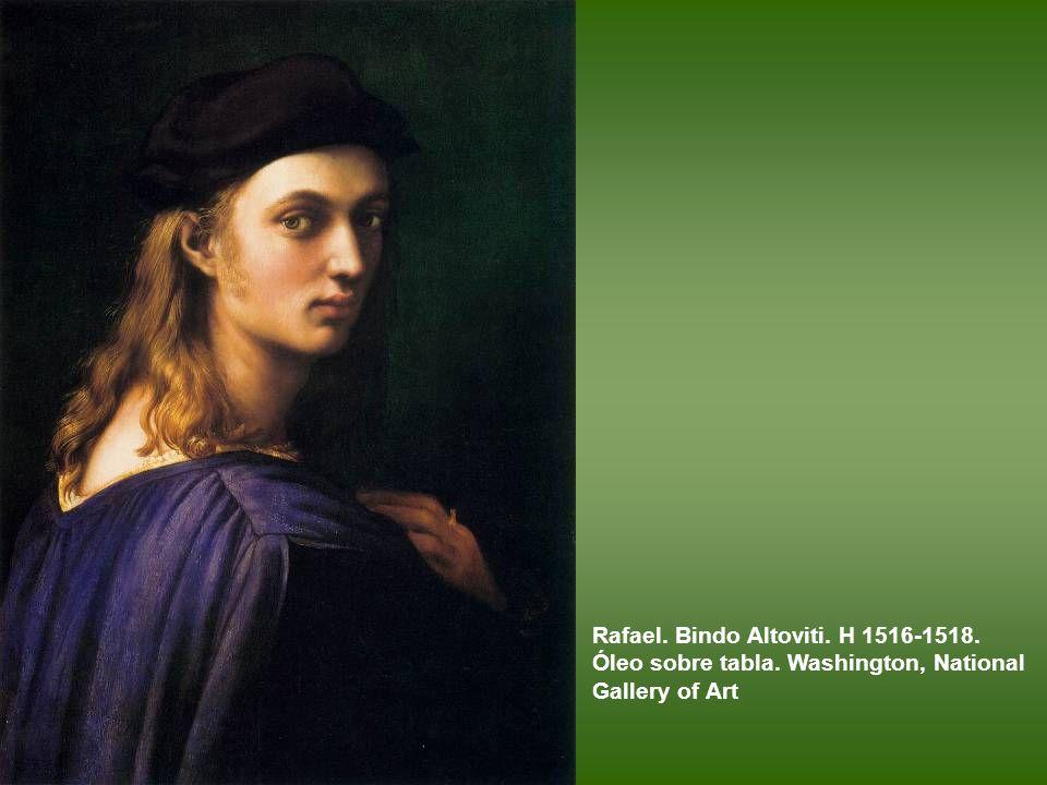 Rafael. Bindo Altoviti. H 1516-1518. Óleo sobre tabla