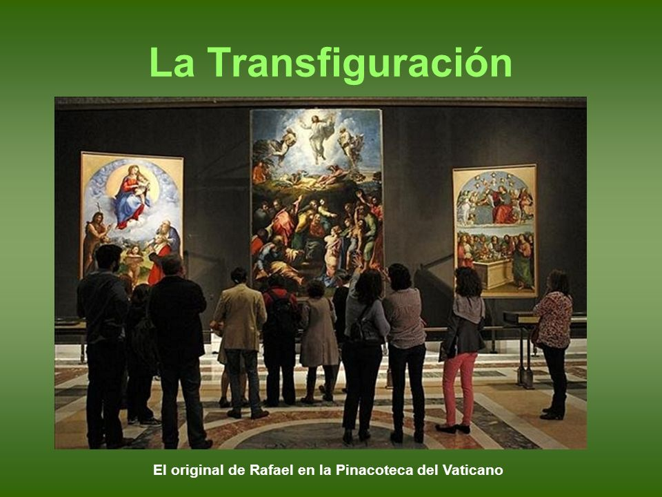 El original de Rafael en la Pinacoteca del Vaticano