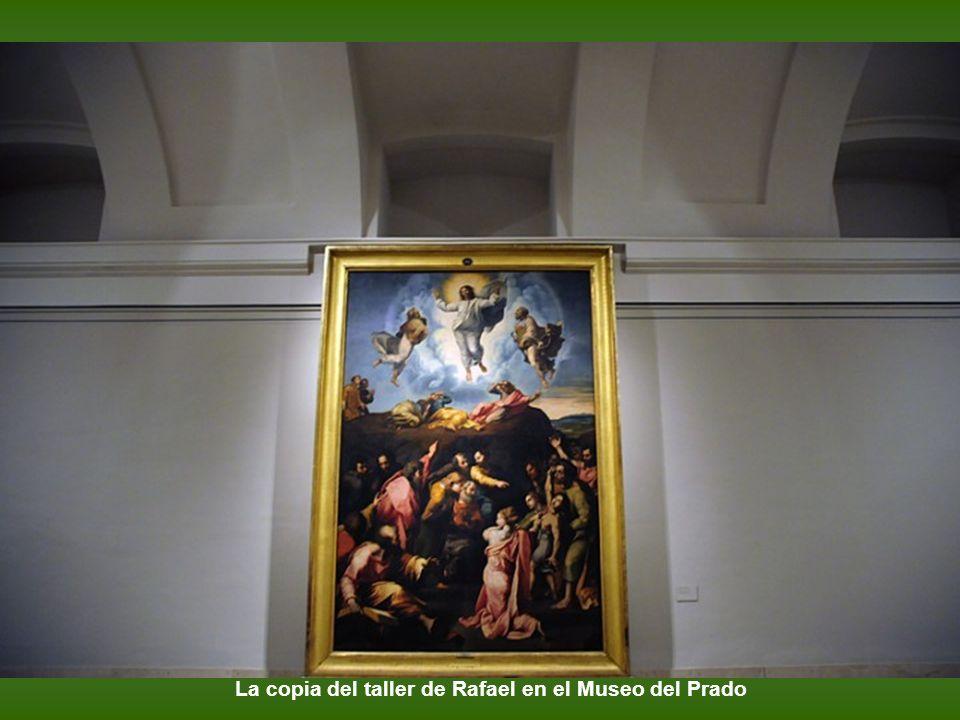 La copia del taller de Rafael en el Museo del Prado