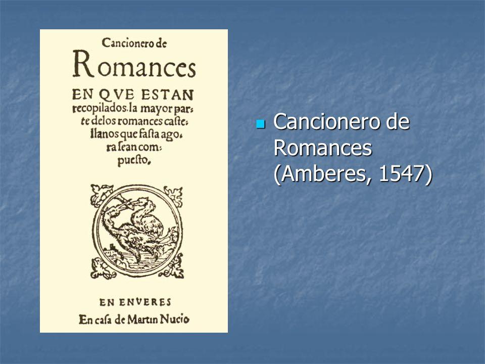 Cancionero de Romances (Amberes, 1547)