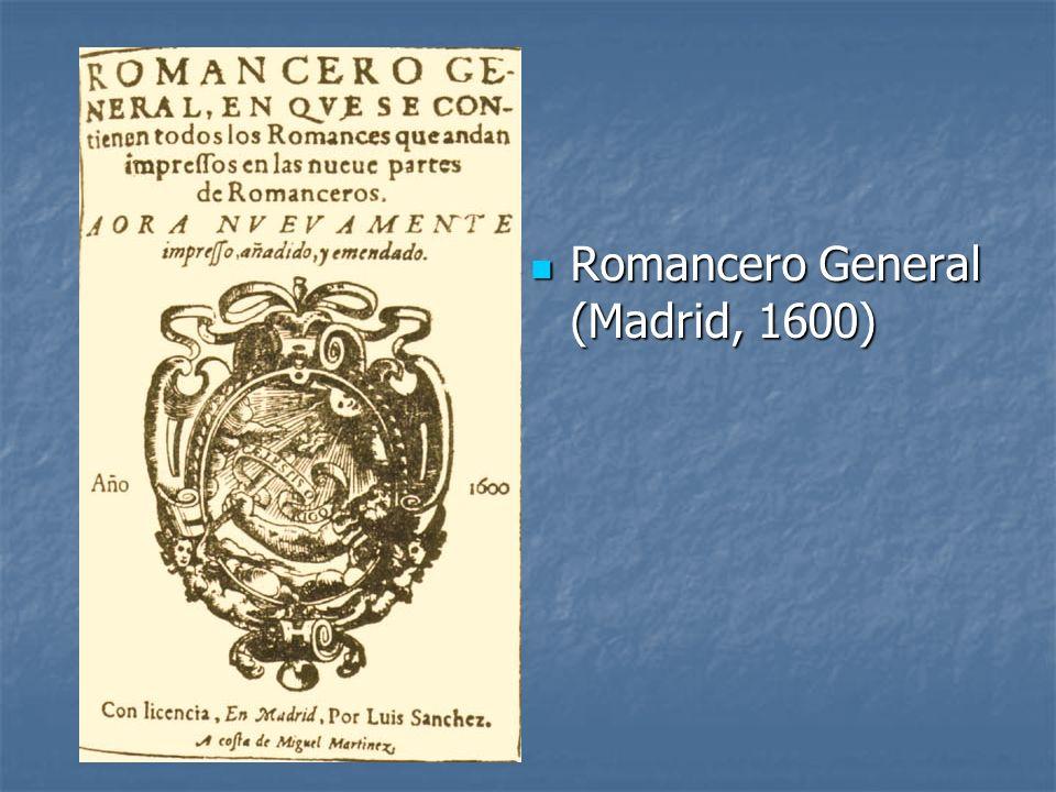 Romancero General (Madrid, 1600)