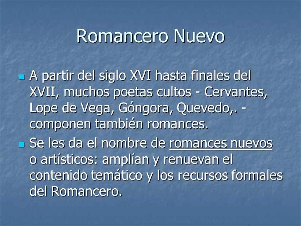 Romancero Nuevo