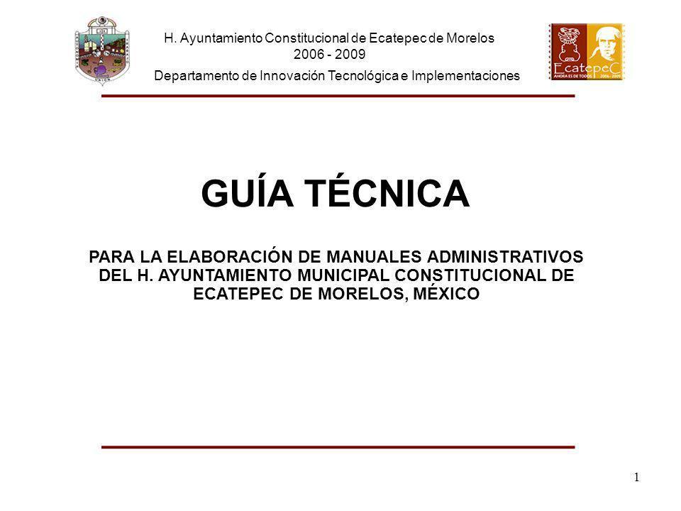 H. Ayuntamiento Constitucional de Ecatepec de Morelos