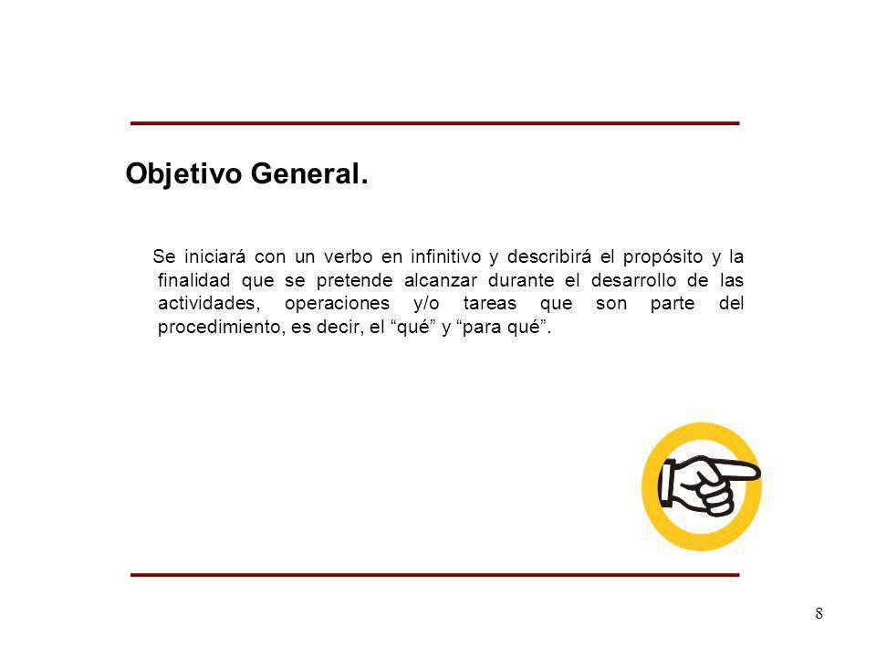 Objetivo General.