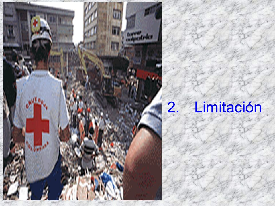 2. Limitación