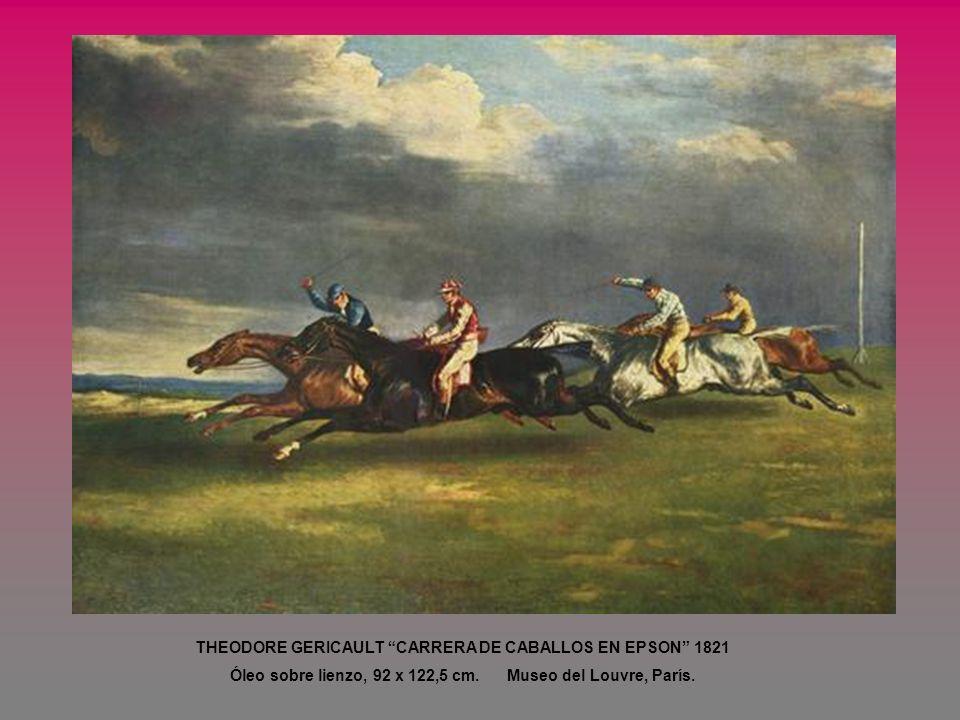 THEODORE GERICAULT CARRERA DE CABALLOS EN EPSON 1821