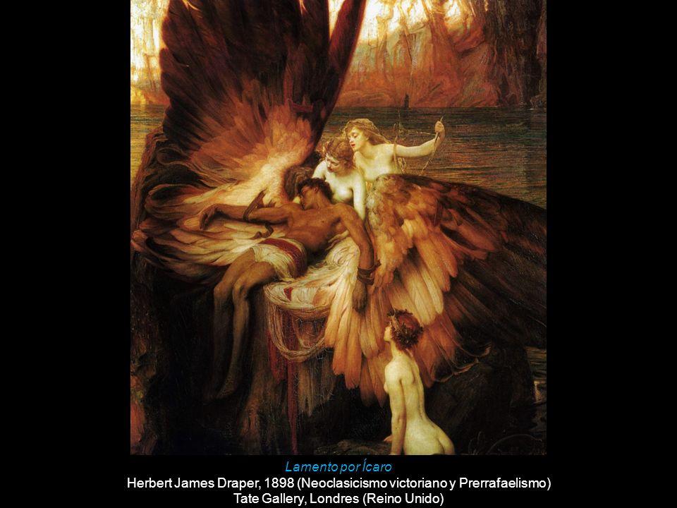 Herbert James Draper, 1898 (Neoclasicismo victoriano y Prerrafaelismo)