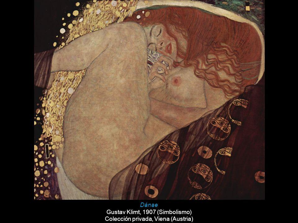 Gustav Klimt, 1907 (Simbolismo) Colección privada, Viena (Austria)