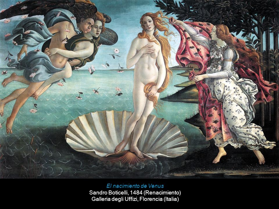 Sandro Boticelli, 1484 (Renacimiento)