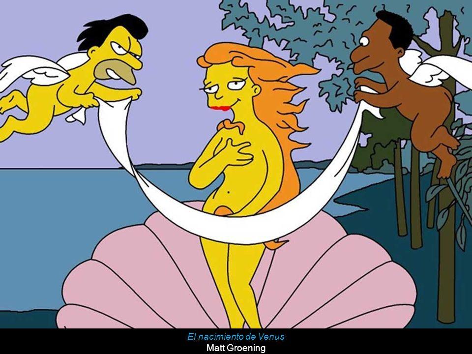 El nacimiento de Venus Matt Groening