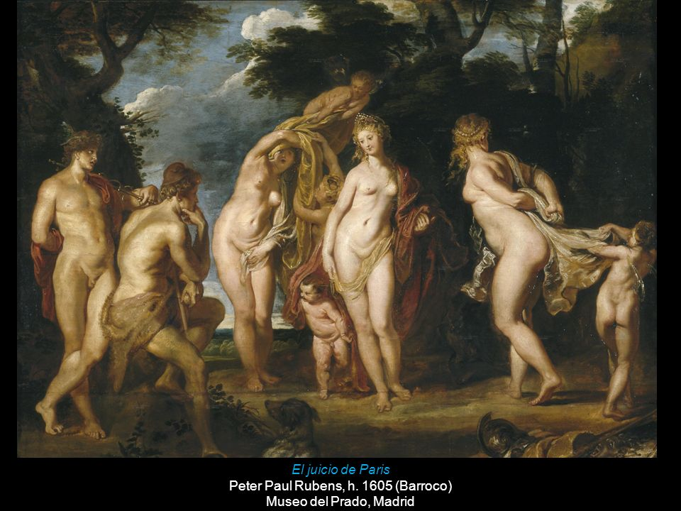 Peter Paul Rubens, h. 1605 (Barroco)