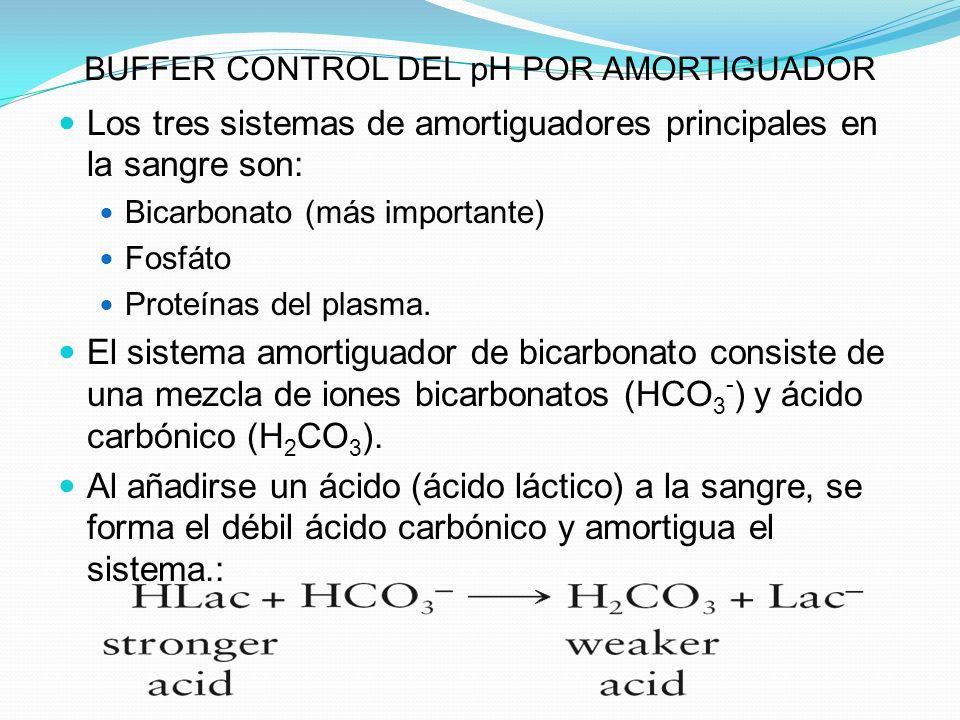 BUFFER CONTROL DEL pH POR AMORTIGUADOR