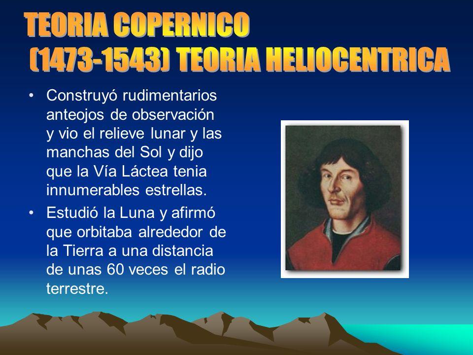 (1473-1543) TEORIA HELIOCENTRICA