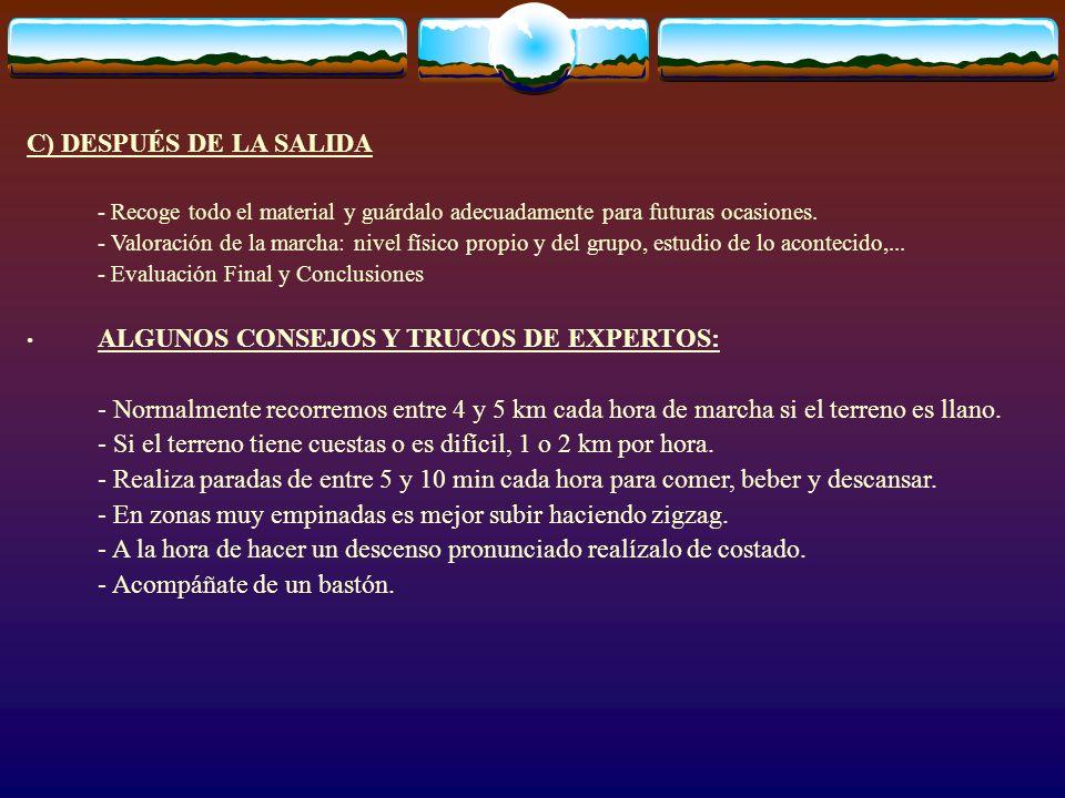 ALGUNOS CONSEJOS Y TRUCOS DE EXPERTOS: