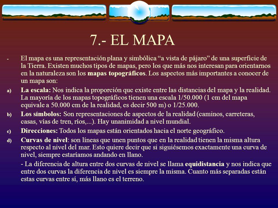 7.- EL MAPA