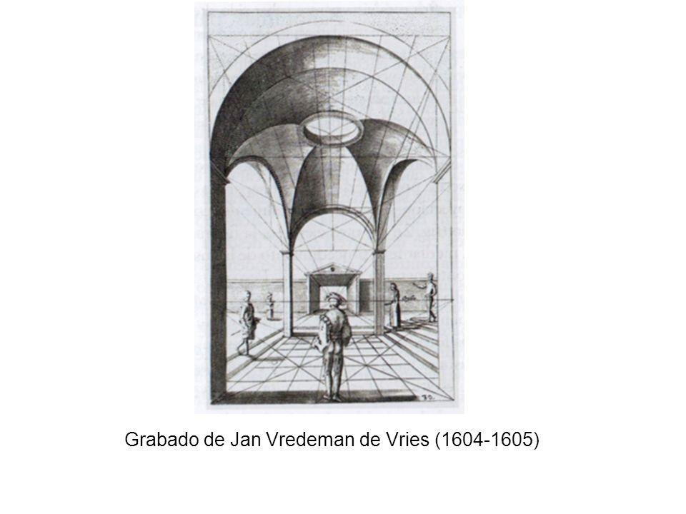 Grabado de Jan Vredeman de Vries (1604-1605)