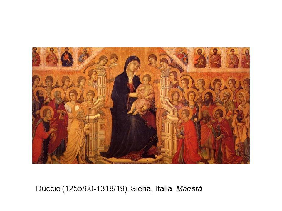 Duccio (1255/60-1318/19). Siena, Italia. Maestá.