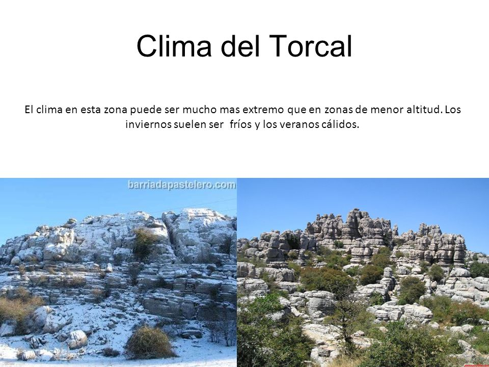 Clima del Torcal