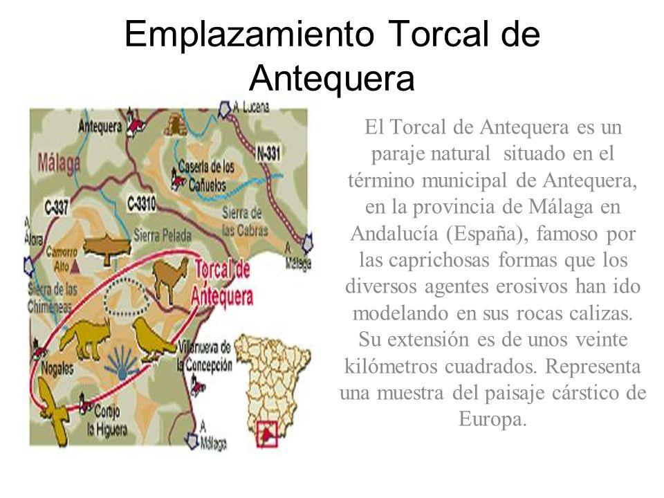 Emplazamiento Torcal de Antequera