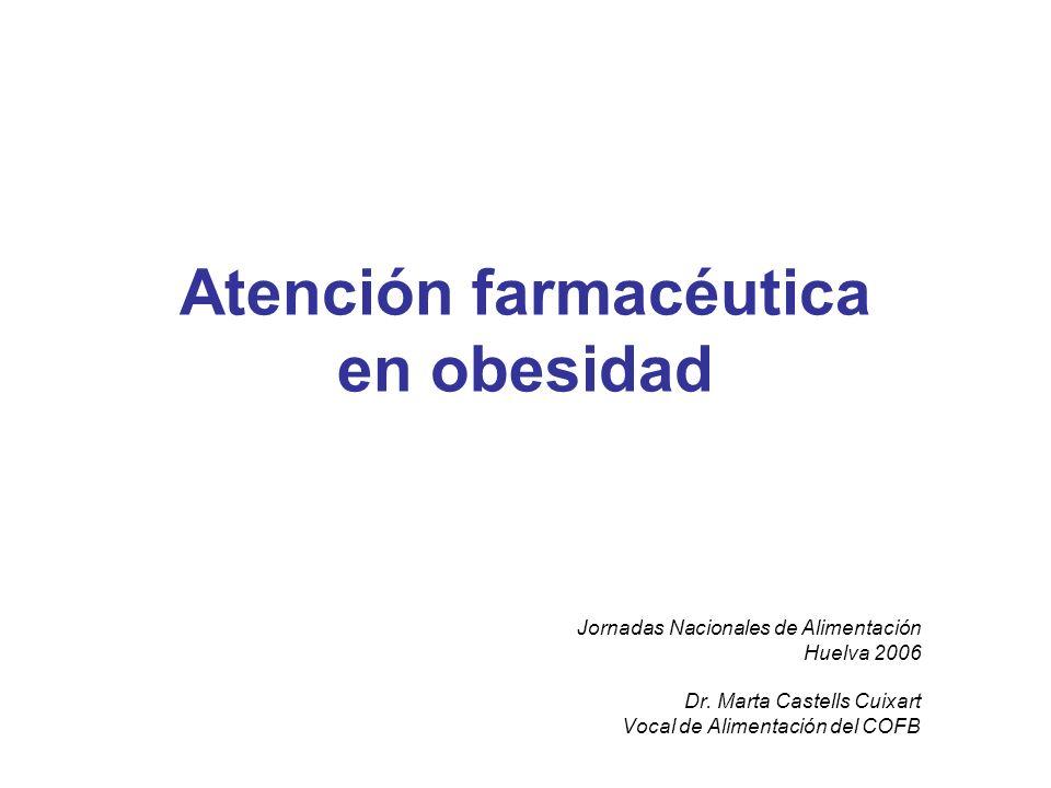 Atención farmacéutica en obesidad