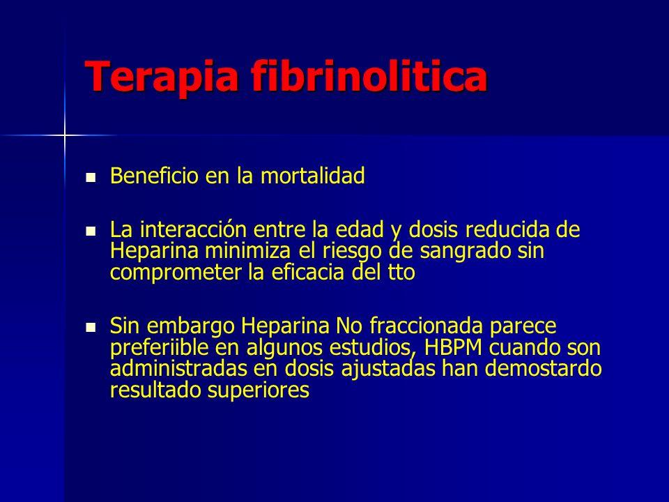 Terapia fibrinolitica