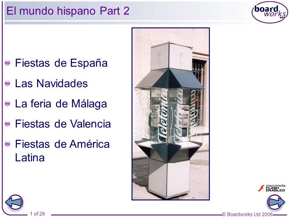 El mundo hispano Part 2Fiestas de España.Las Navidades.