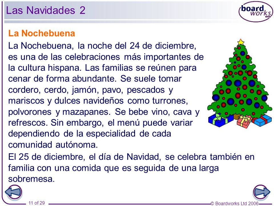 Las Navidades 2 La Nochebuena