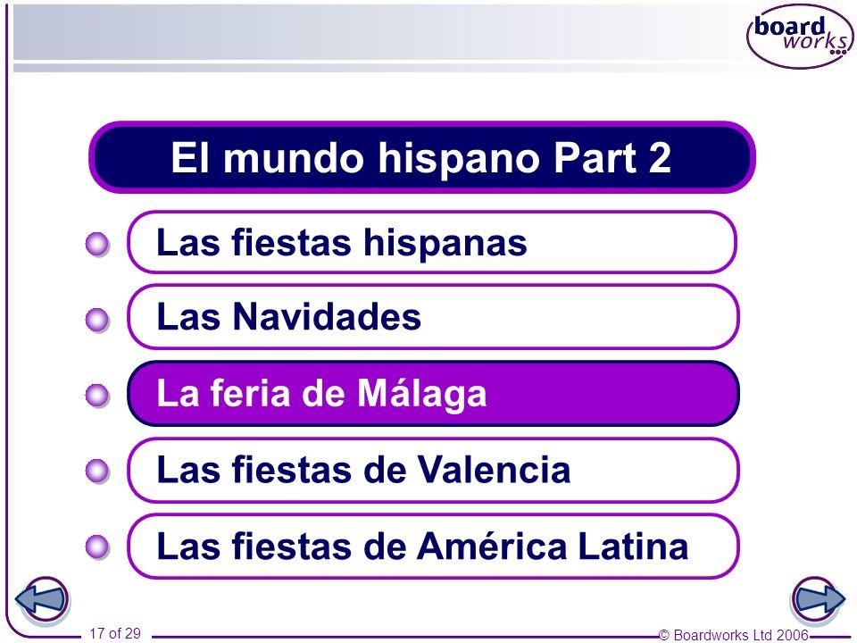 El mundo hispano Part 2 Las fiestas hispanas Las Navidades