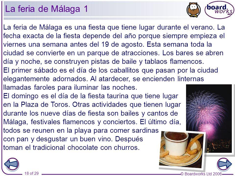 La feria de Málaga 1
