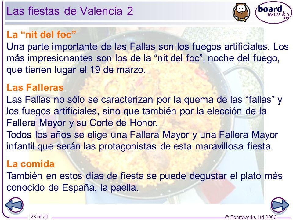 Las fiestas de Valencia 2