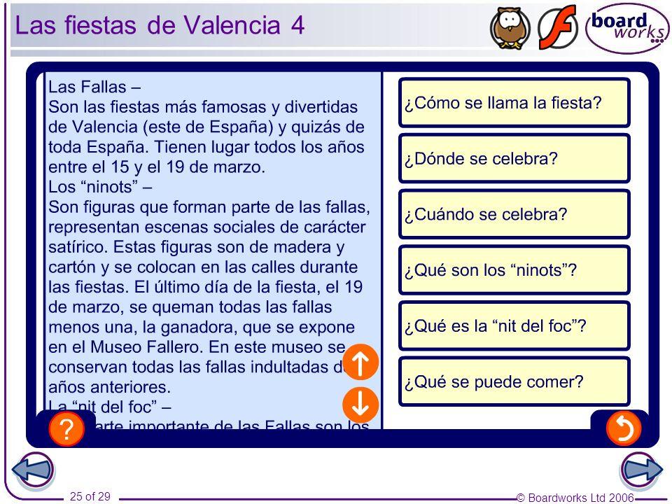Las fiestas de Valencia 4