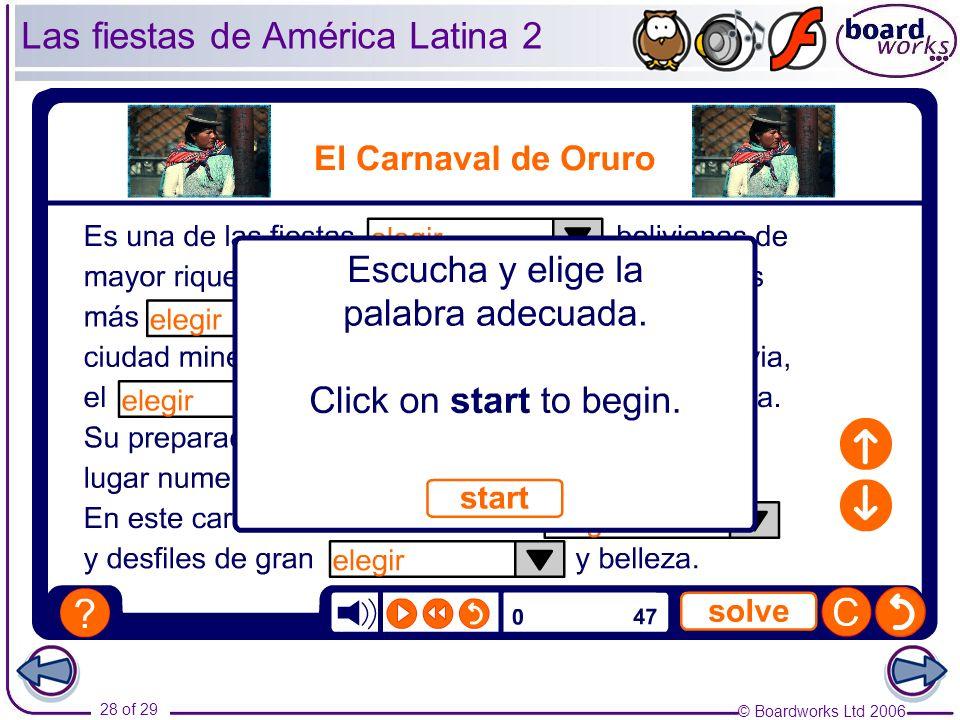 Las fiestas de América Latina 2