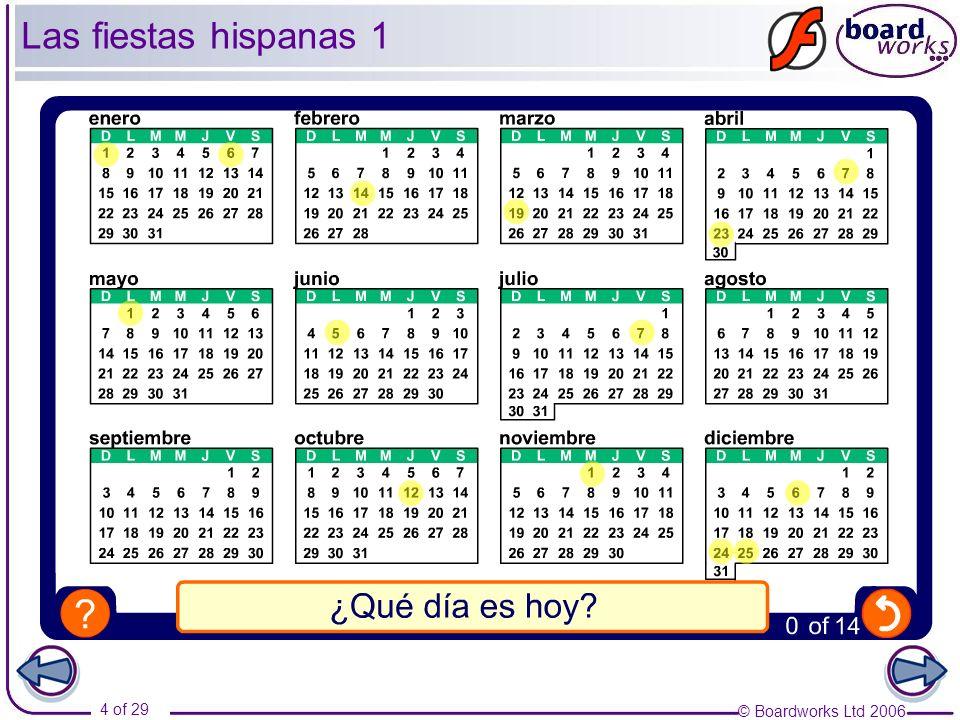 Las fiestas hispanas 1