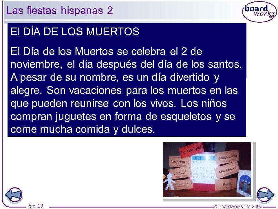 Las fiestas hispanas 2 El DÍA DE LOS MUERTOS