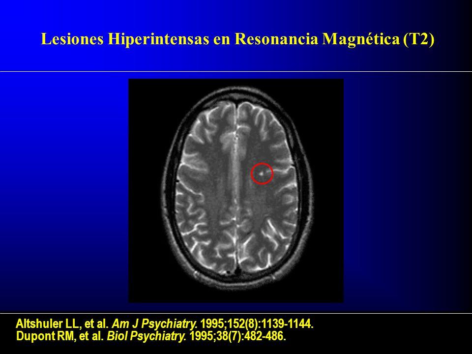 Lesiones Hiperintensas en Resonancia Magnética (T2)