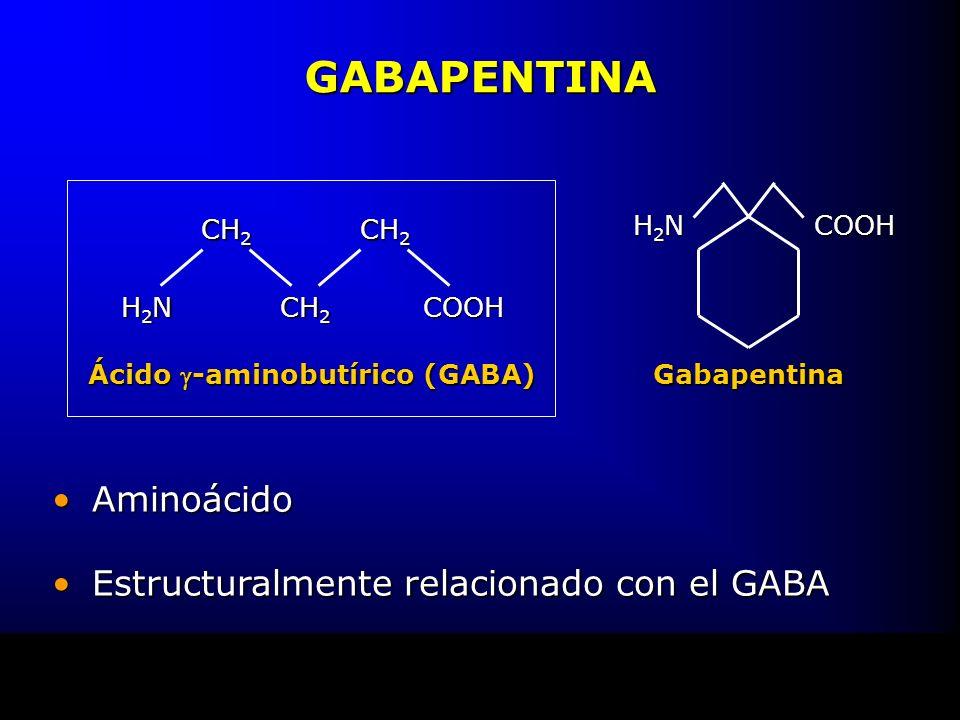 Ácido g-aminobutírico (GABA)