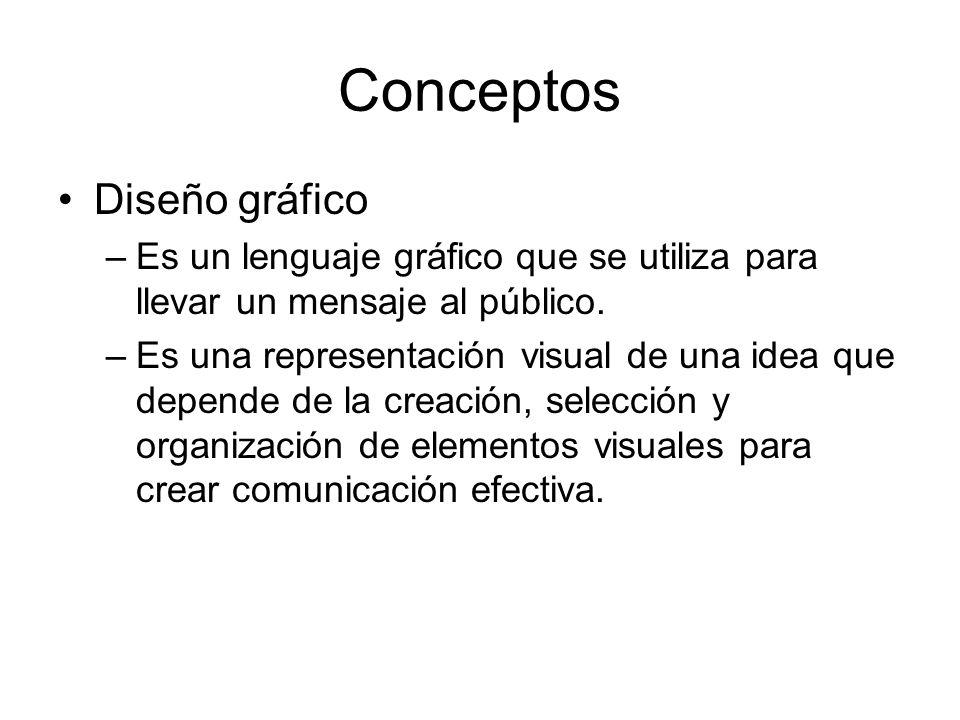 Conceptos Diseño gráfico